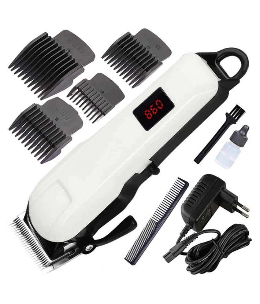 IND NEW Man Professional beard hair shaver High quality LCD Display TRIMMER Casual Gift Set
