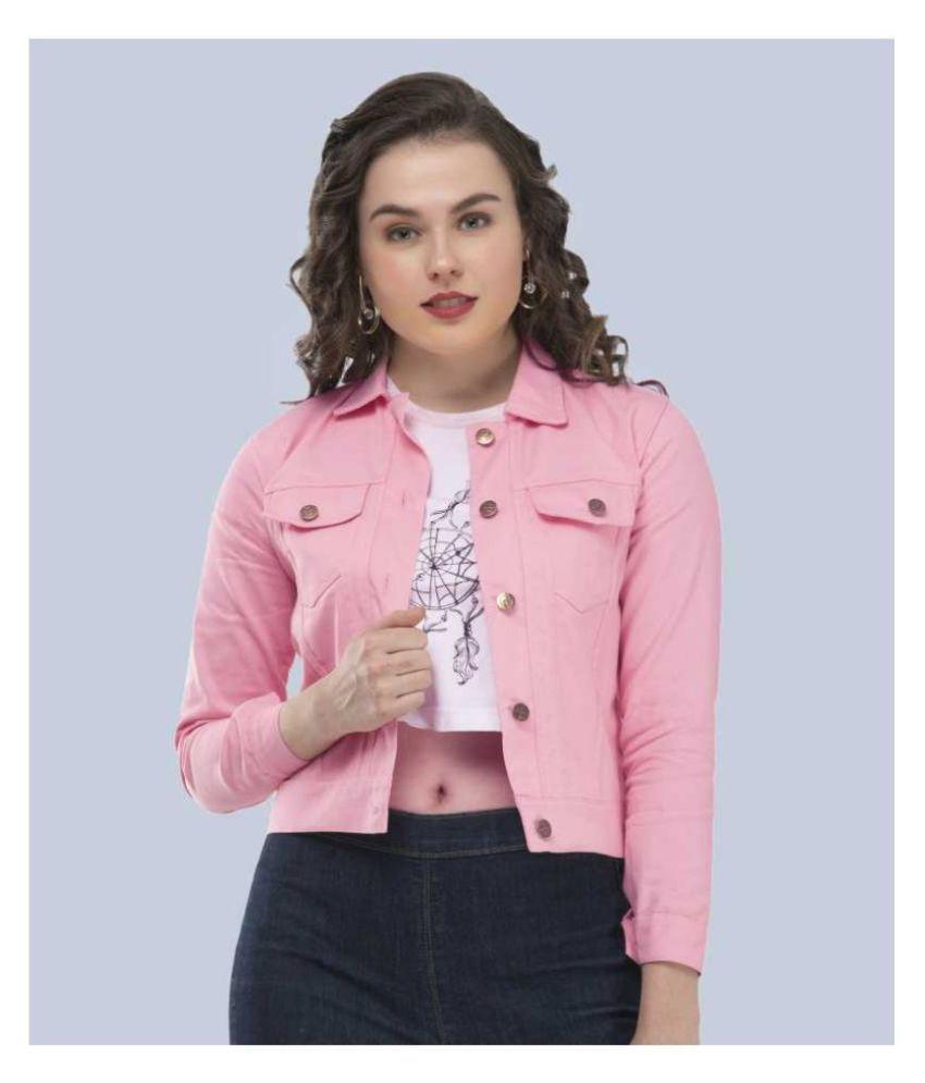 PINK FABB Denim Pink Jackets