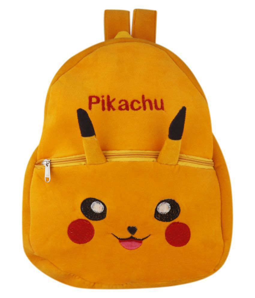 Pikachu School Nursery Picnic Carry Travelling Bag   2 to 5 Age Yellow
