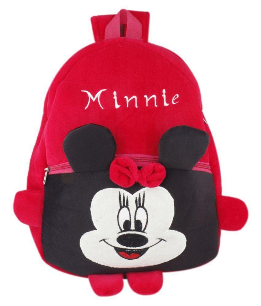 Present Play School Bags for Kids Kindergarten and Nursery Babies School Bag Pink
