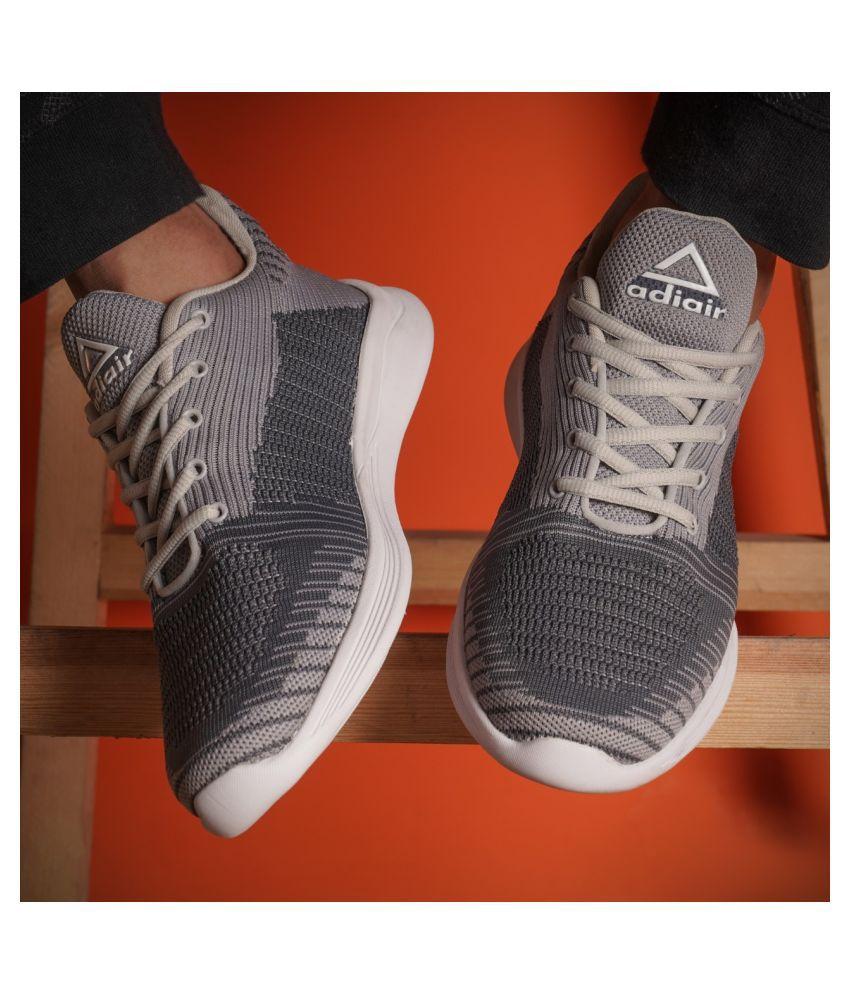 ADIAIR Pace Gray Running Shoes