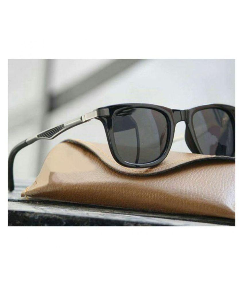 RESIST - Black Square Sunglasses ( na )