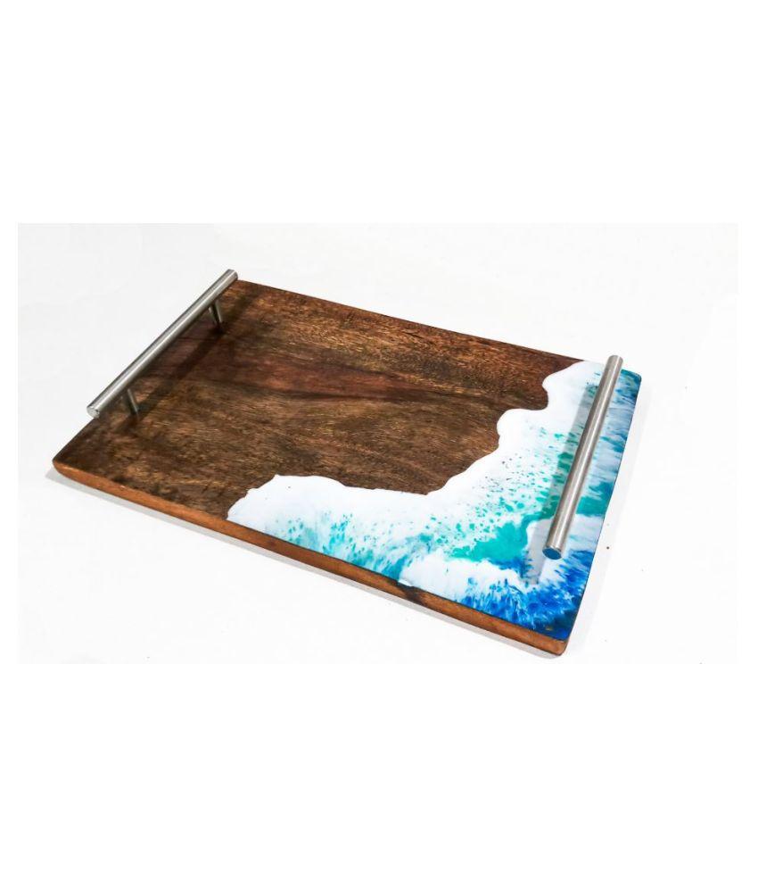 Mahadi epoxy Wooden Condiment Set 1 Pcs