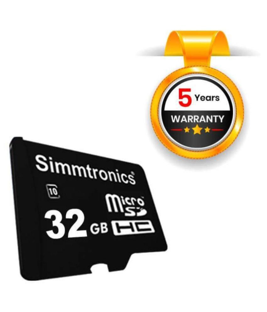 Simmtronics 32  GB Class 10 Memory Card