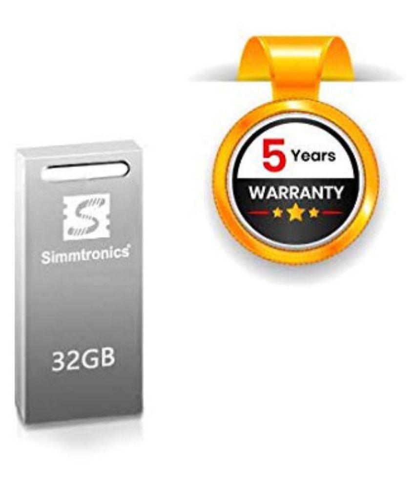Simmtronics 32 GB USB 2.0 Utility Pendrive Pack of 1