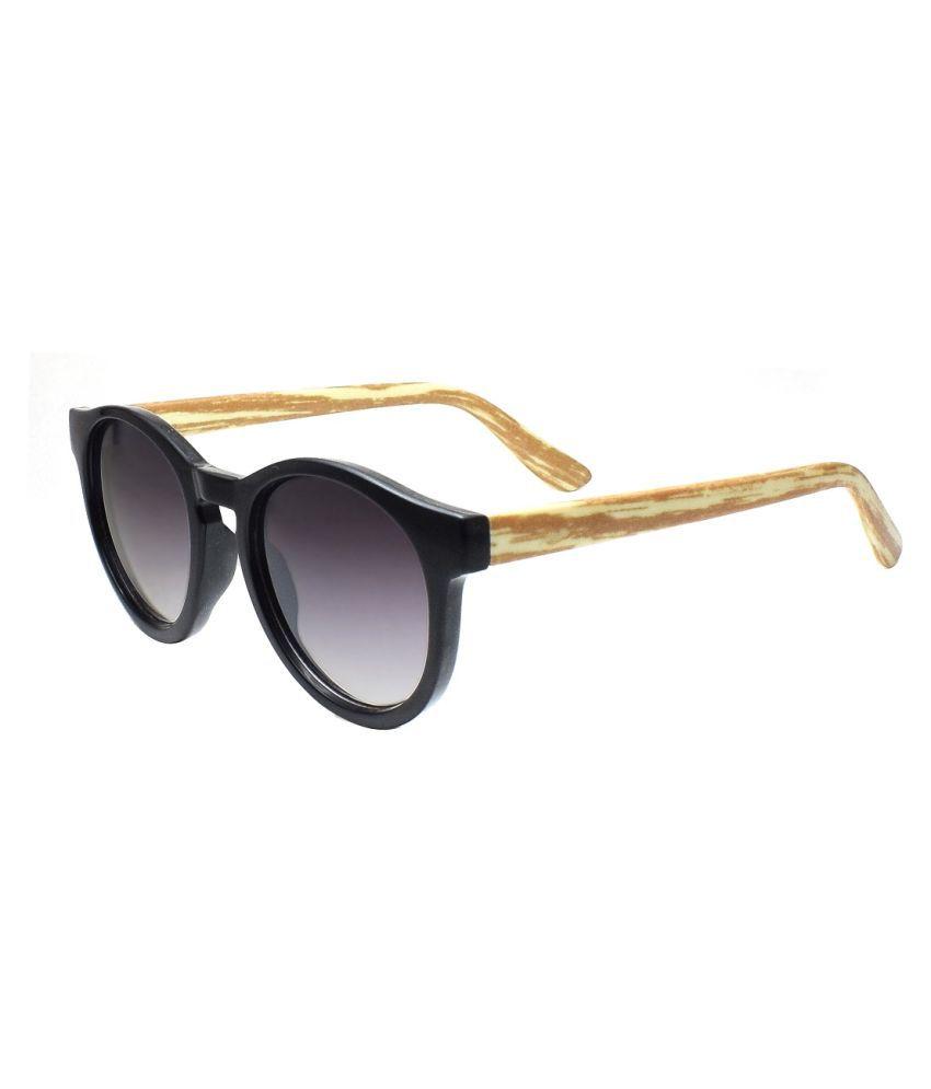 Peter Jones - Black Round Sunglasses ( 2610BT )