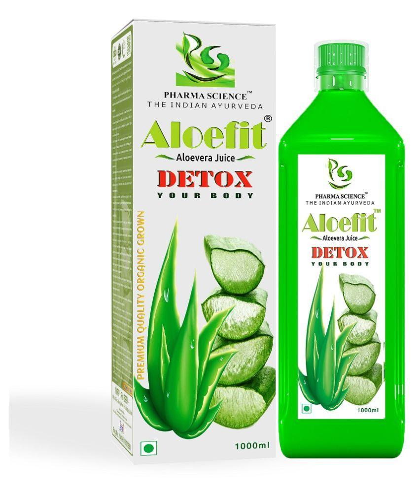 Pharma Science Aloe Vera Juice Liquid 1000 ml Pack Of 1