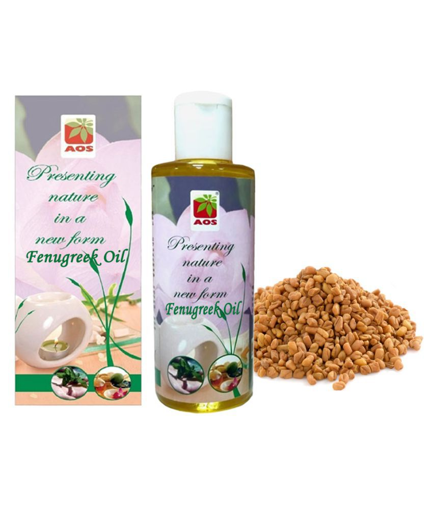 AOS Fenugreek Oil - 200 ml Moisturizing Bath Kit