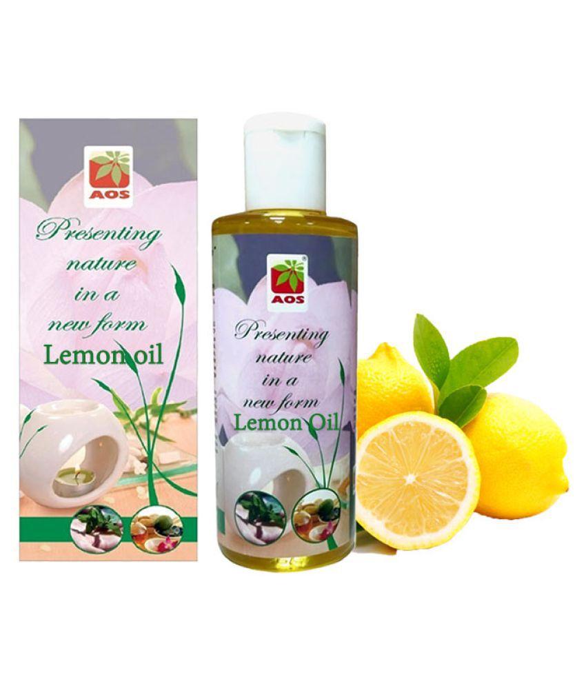 AOS Pure Lemon Oil - 30 ml Aromatherapy Bath Kit