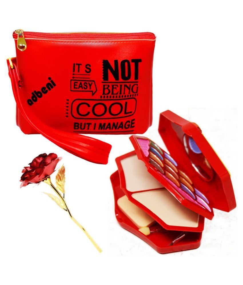 Adbeni Goldplated Valentine Hamper Red - Pack of 3