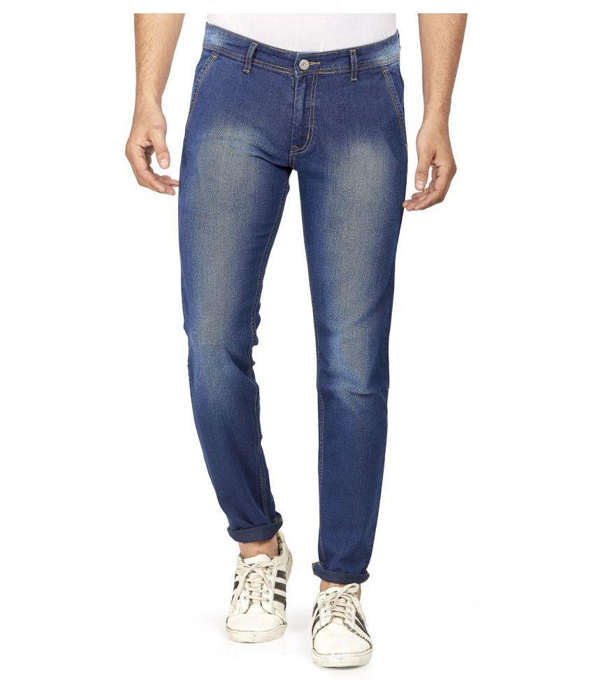 Hasasi Denim Dark Blue Regular Fit Jeans