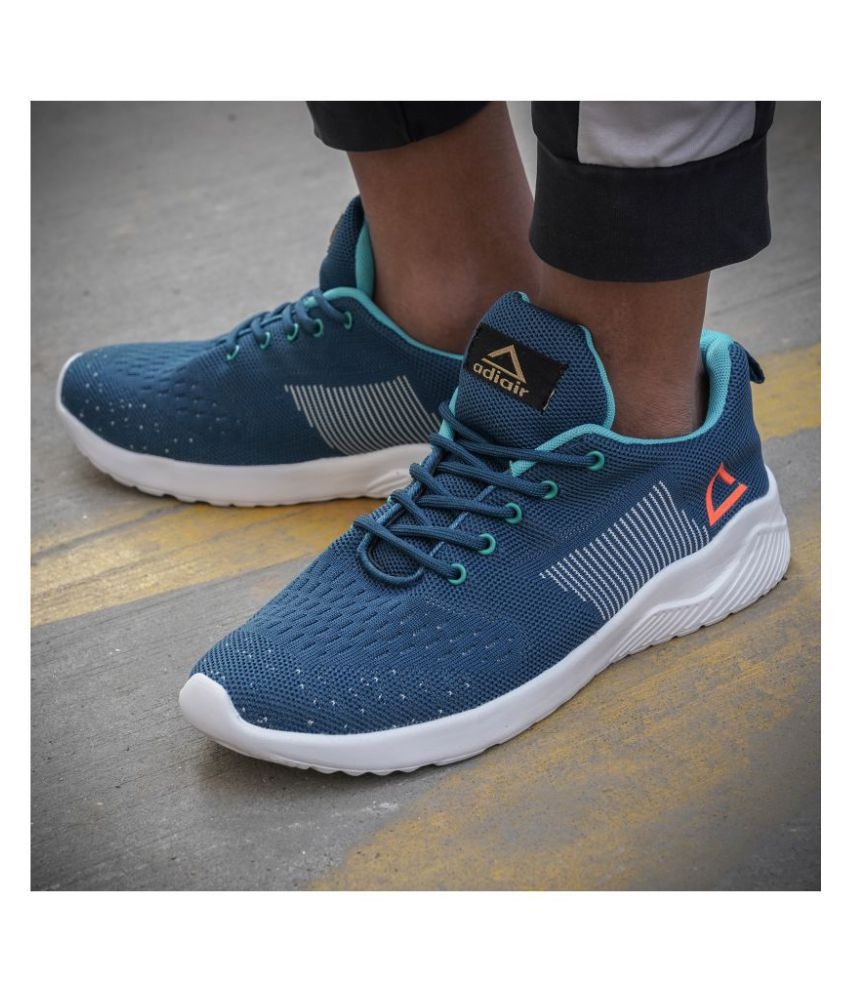 ADIAIR Bounce Blue Running Shoes