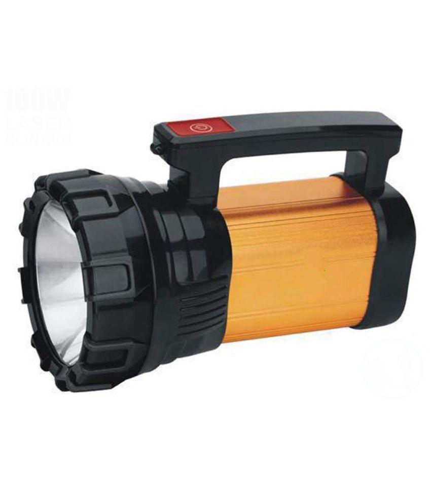 SA 1000mtr LED Waterproof Long Beam Metal 50W Flashlight Torch 50W Flashlight Torch - Pack of 1