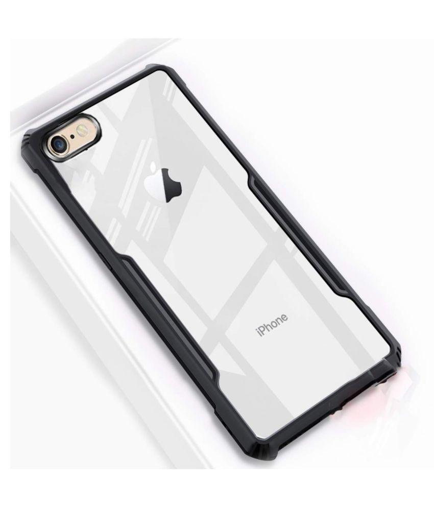 Apple iphone 6 Bumper Cases Maggzoo   Black Transparent Eagle Back Cover
