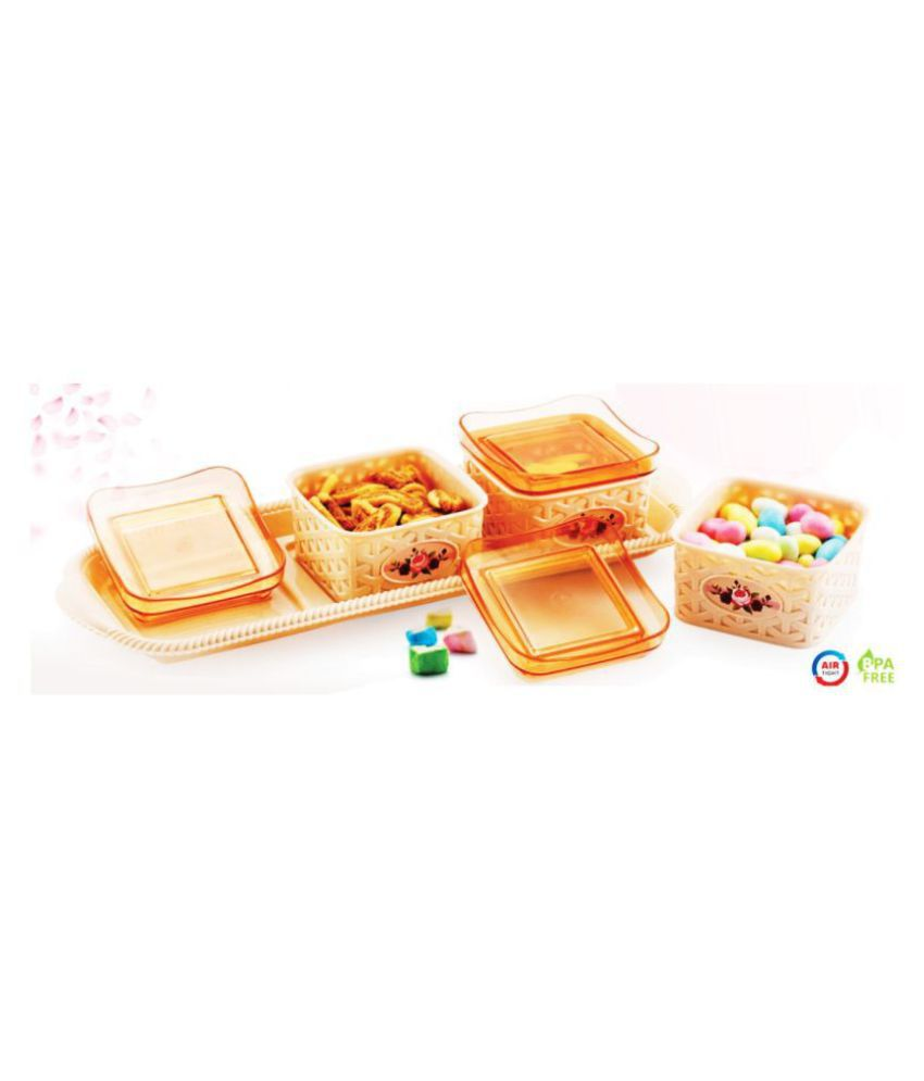 London DLX 3Containers Set With Tray