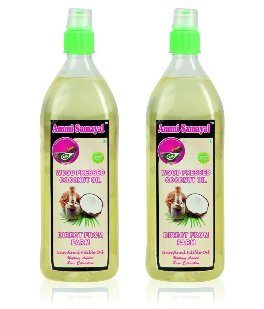 Ammi Samayal Coconut Oil 2356 g Pack of 2