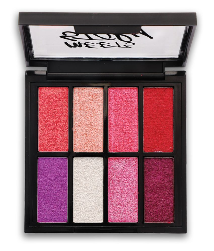 Incolor Meets Story 4 Eye Shadow Pressed Powder SPF 12 Colours 9 g