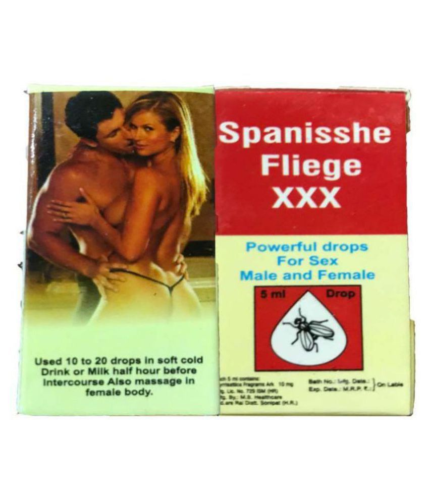 SPANISCHE FLIEGE XXX SEX DROPS- INCREASE REAL SUPER STRENGTH SPANISH FLY 5 ML