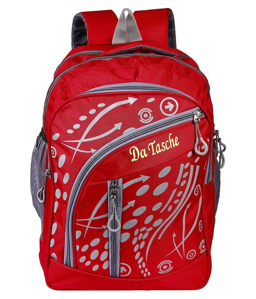 Da Tasche Red Backpack