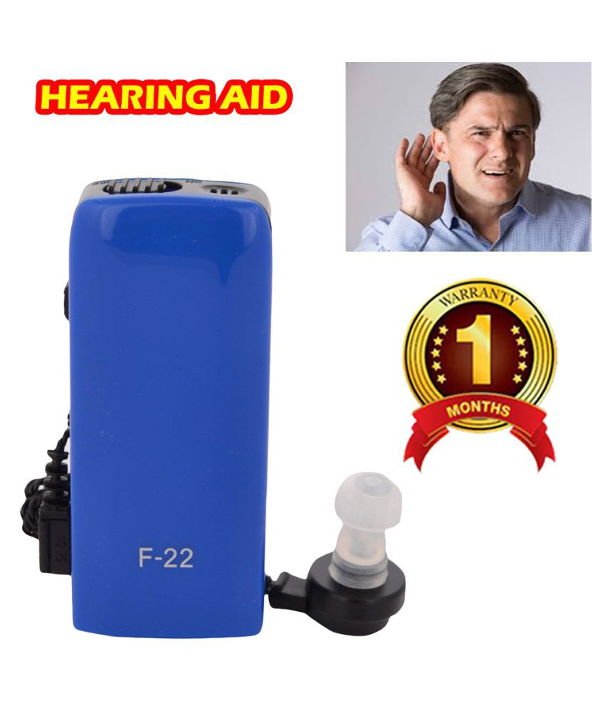 DS AXON F-22 Pocket Sound Amplifier Electronic Wire Ear Plugs Hearing Aid Hearing Loss People AID