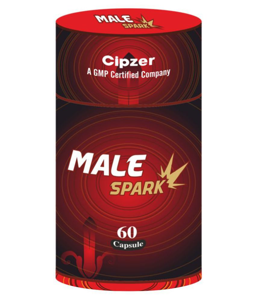 Cipzer Male Spark(Sex Power & Stamina) CMS01 Capsule 60 no.s Pack Of 1