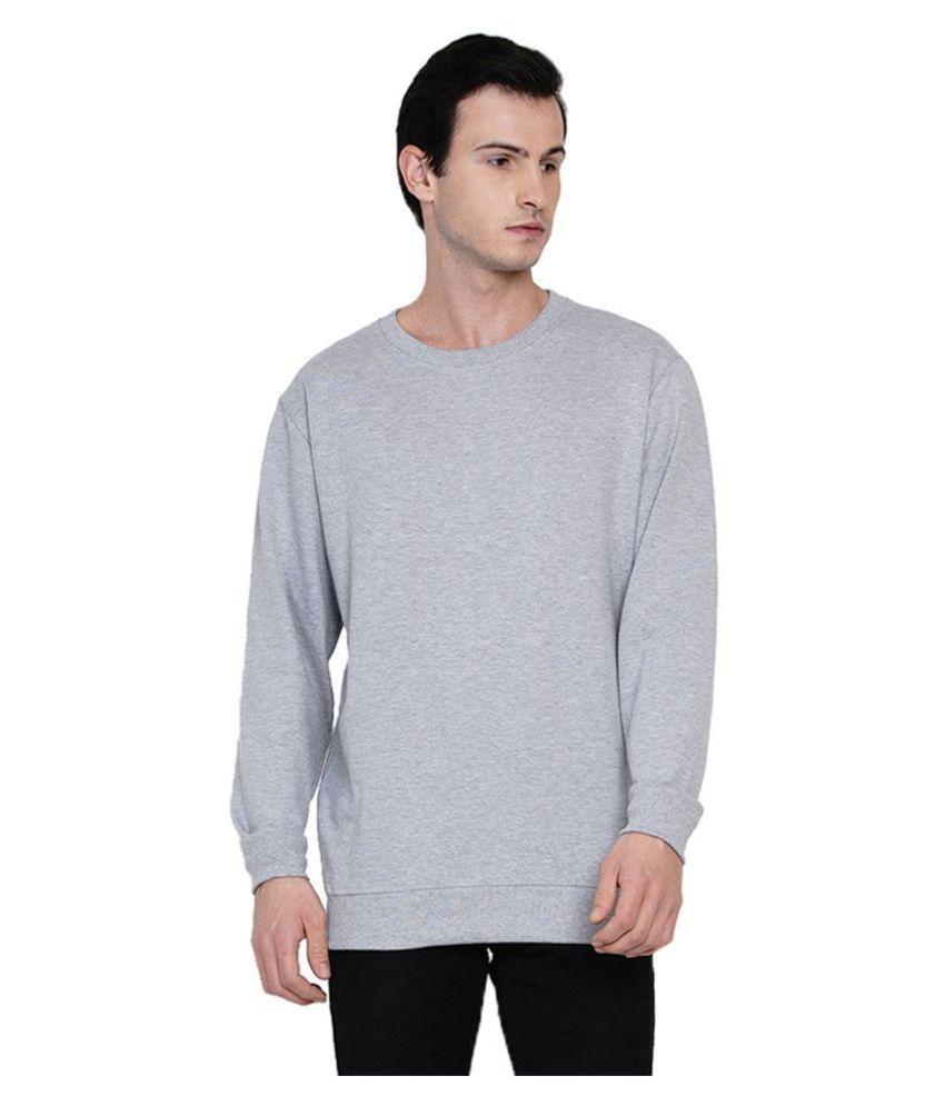 Knits and Weave Grey Sweatshirt