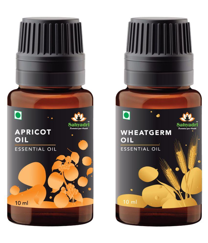 Sahyadri Apricot and Wheatgrem Essential Oil 20 mL