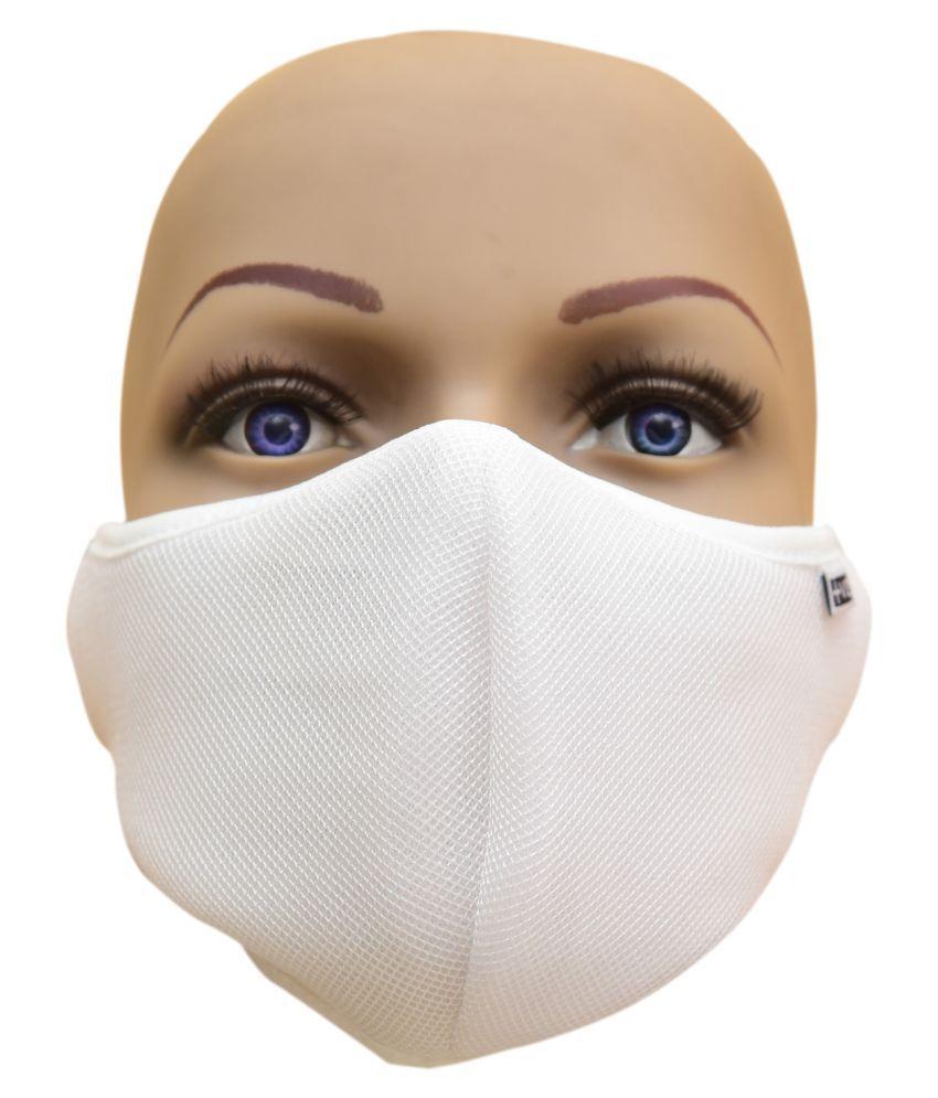 Smart Care Fog Free Face Mask White Large N95 Mask
