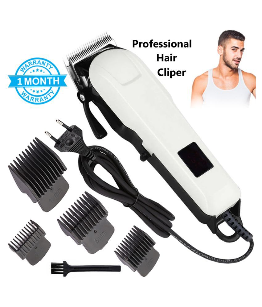 Professional waterproof hair trimmer beard trimer body face hair 120 min Trimmer Casual Gift Set