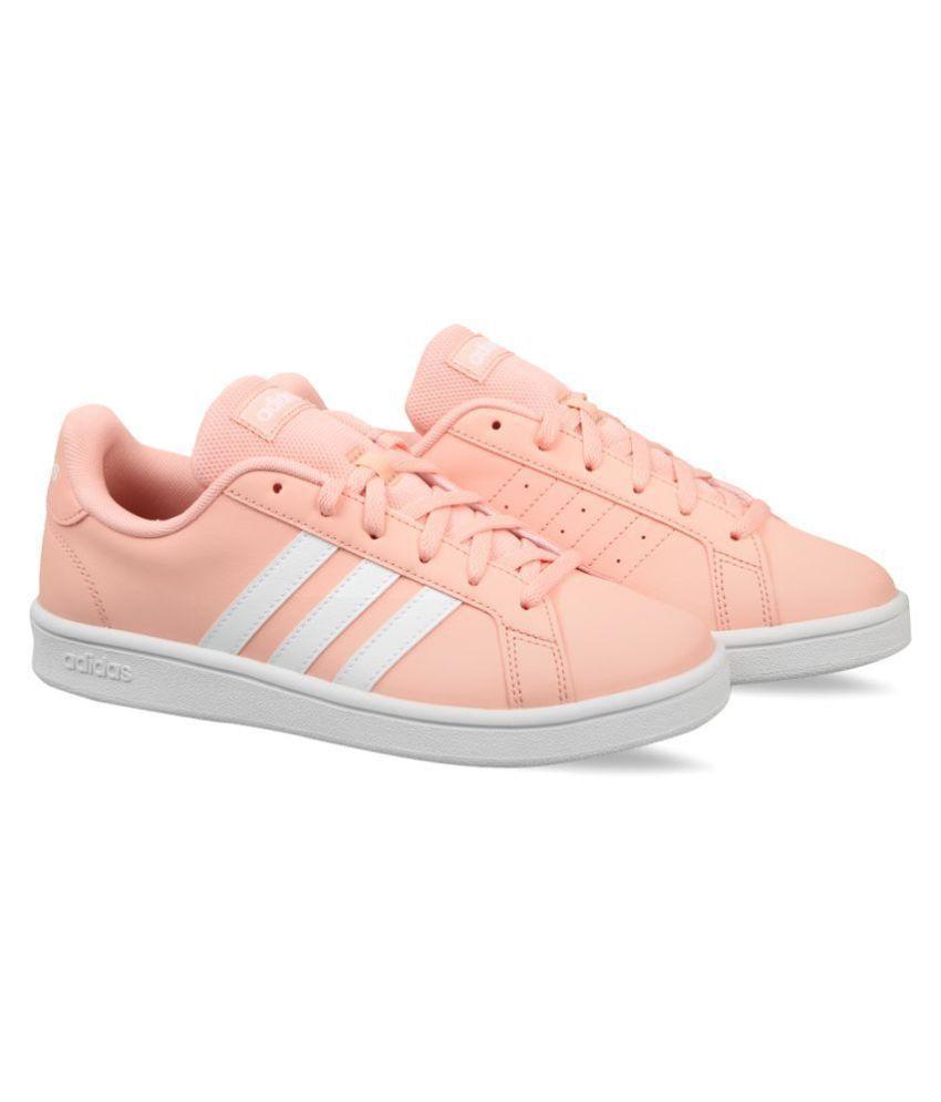 Adidas Pink Tennis Shoes