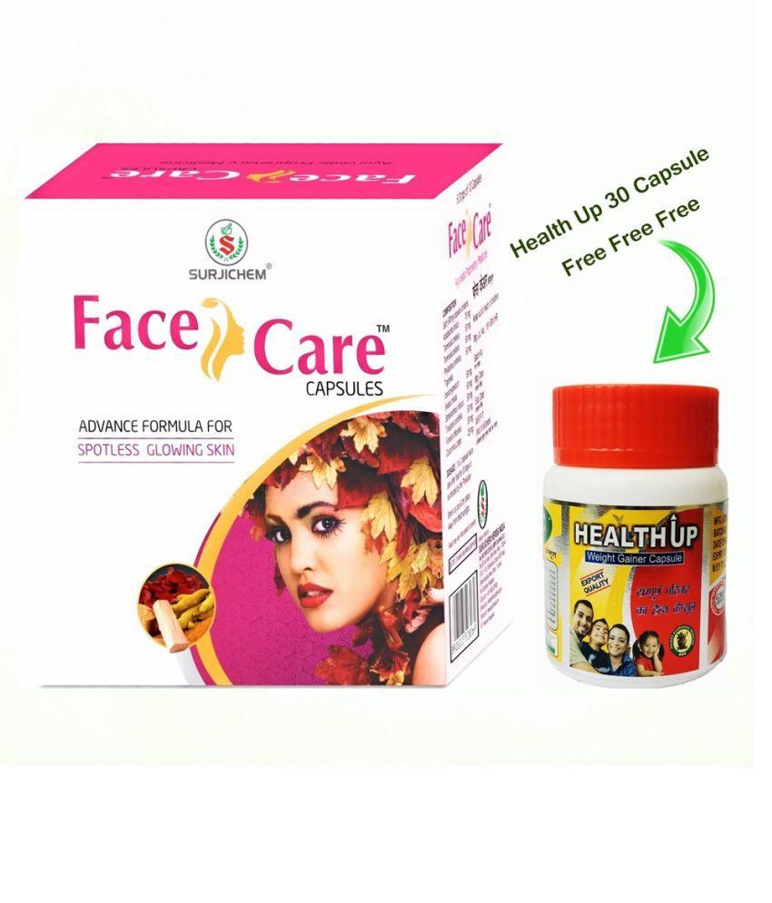 Herbal Care Face Care Ayurvedic Capsule 60 no.s