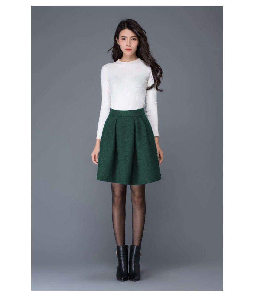 Priyanka Fashion Poly Cotton White T-shirt Dress