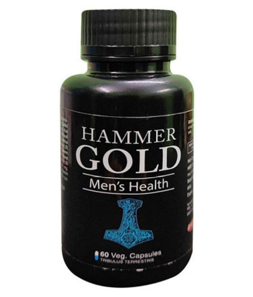 Dr Chopra Hammer  Of Gold ,  Ayurvedic Ingredients Capsule 60 no.s