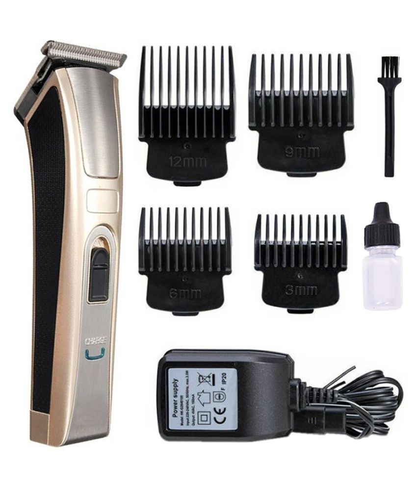 FK Electric Hair Clipper Trimmer Rechargeable Adjustable Clipper Casual Gift Set