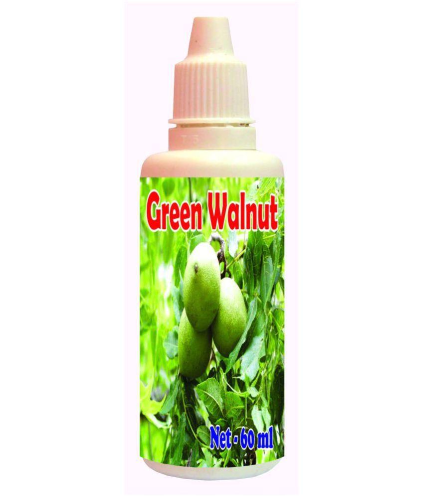 hawaiian herbal Green Walnut Drops-60ml(Get One Bottle 60ml  Green Walnut Drops Free) 60 ml Minerals Syrup