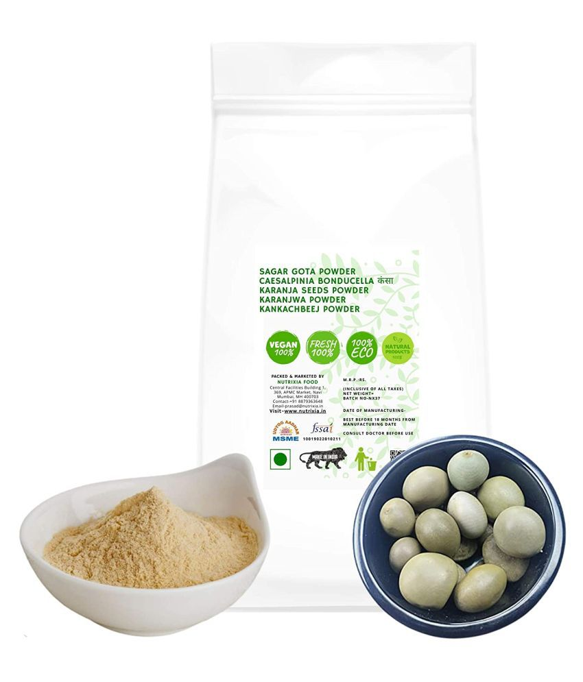 Nutrixia Food Sagar gota powder Karanja Seeds powder Powder 500 gm Pack Of 1