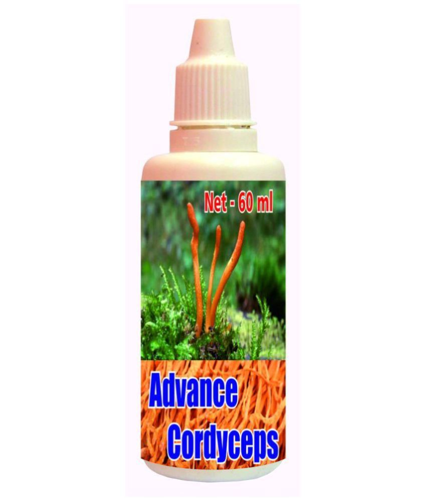 hawaiian herbal Advance Cordyceps Drops(Get 60ml Advance Cordyceps Drops Free) 60 ml Minerals Syrup