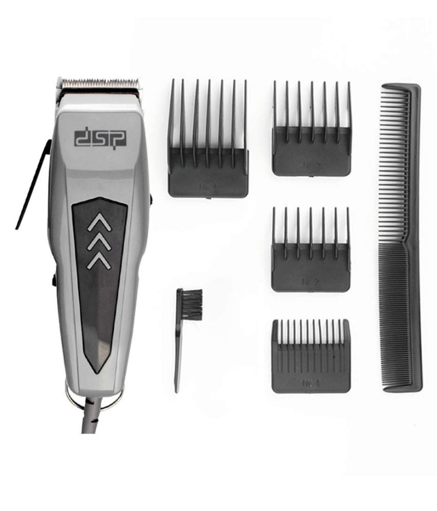 DSP 5 In 1 Electric Hair Clipper Corded Trimmer Waterproof Beard Shaver For Men Casual Gift Set