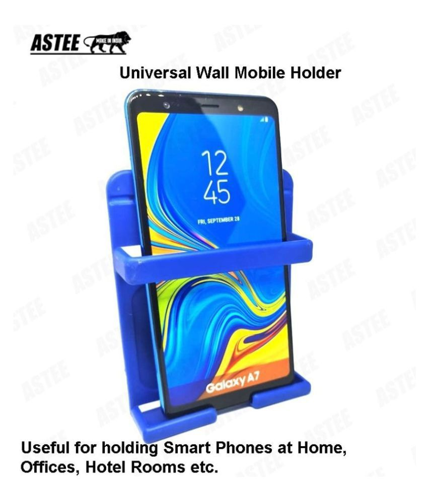 ASTEE  Universal Wall  Mobile Holder , Smartly Designed to fit almost all shapes and sizes of Mobile Phone TO Organize your Mobile Phone while charging