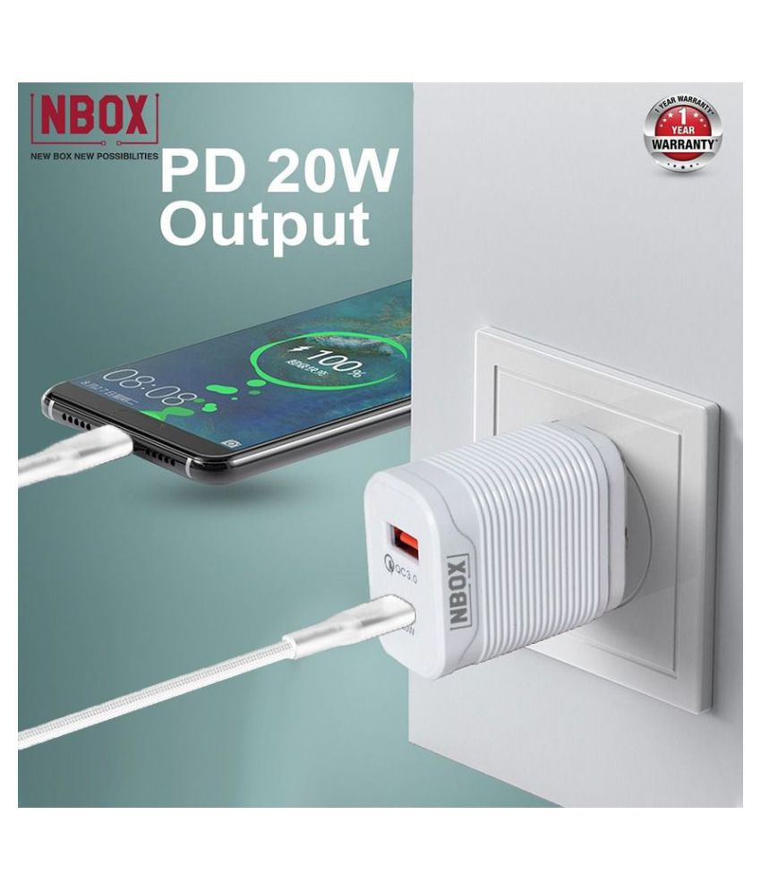 NBOX 3A Wall Charger