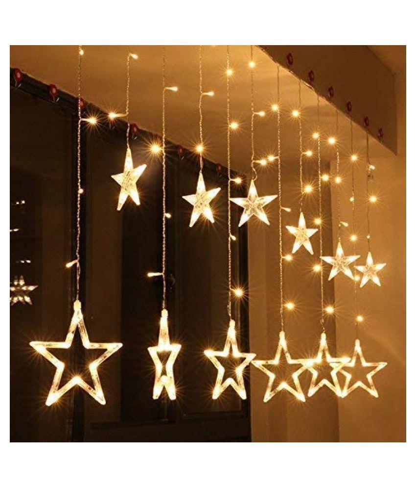 PENYAN Plastic Diwali Lighting Gold - Pack of 1