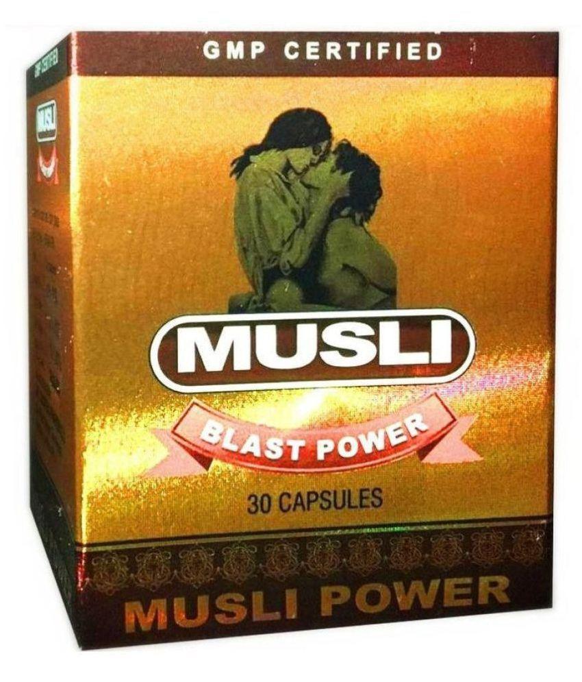 Dr.Chopra Ayurvedic Musli  Blast Power Capsule 30 no.s