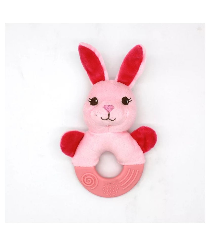Dog Plush Squeaky Toy with Rope, Dog Interactive Chew Toy, Cute Soft