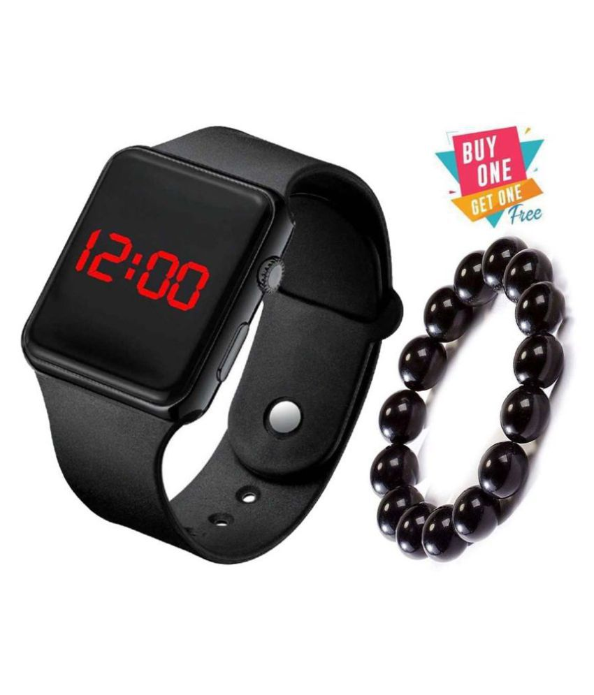 New Kids Stylist Led Watch And Free Bracelate For Boy/Girl