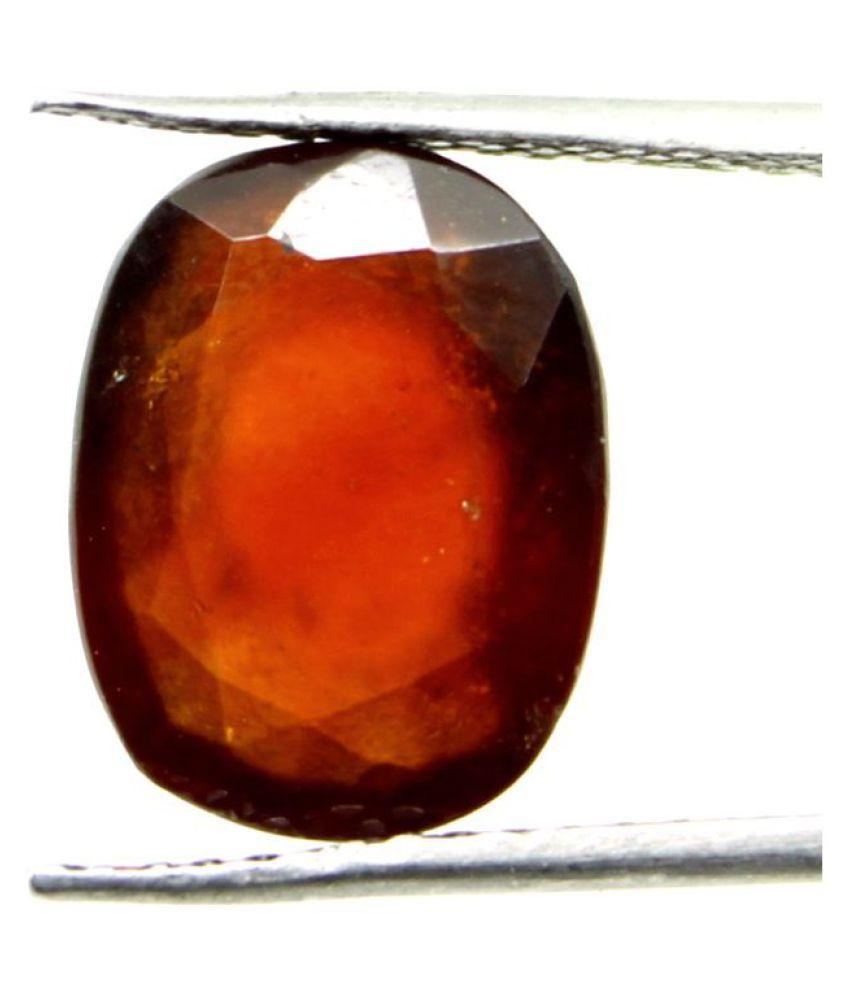 Oneshivagems 7.13 Carat Certified Hessonite Garnet Gomed Stone Siloni Loose Gemstone