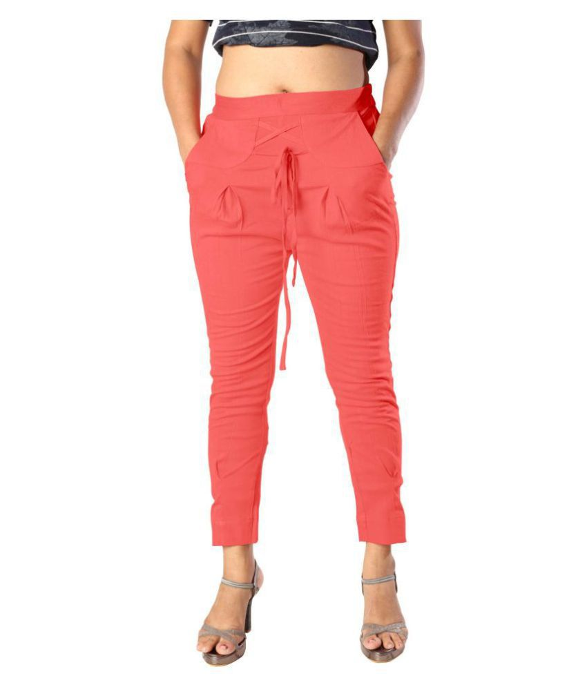 elenia Cotton Jeans - Pink