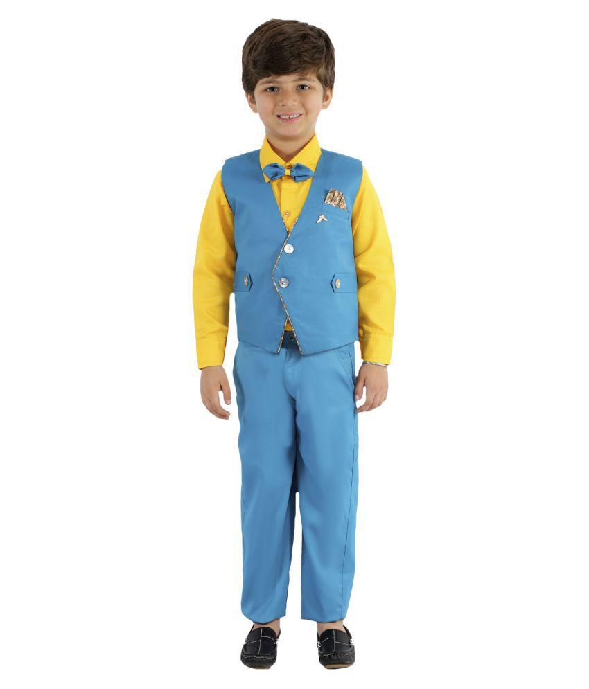 Fourfolds Boy's 3-Piece Suit (FC058