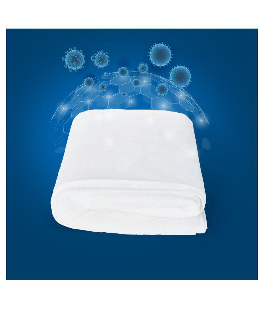 Duroflex Duro Safe White Poly Cotton Mattress Protector