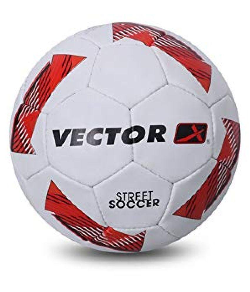 Vector X  Street Soccer White Football Size- 4