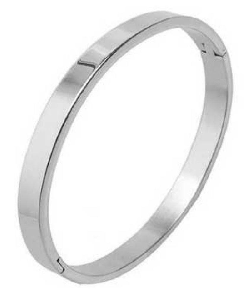 Ratan Bazaar - Sterling Silver Kada for Men & Women